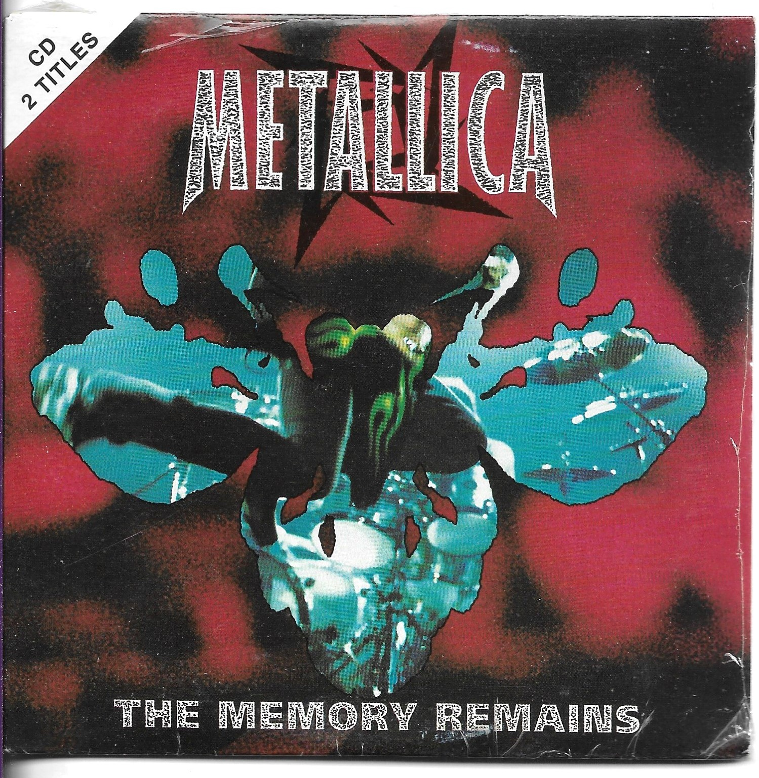 METALLICA - Marianne FAITHFULL - The Memory Remains 2-track Card Sleeve