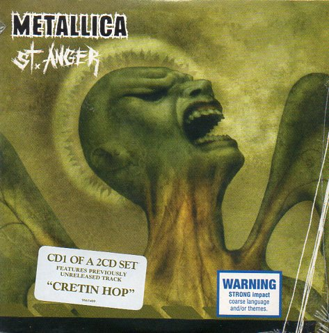 METALLICA - St Anger 2-track Card Sleeve - Australie -
