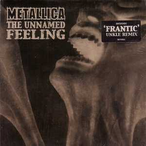 METALLICA - The Unnamed Feeling Card Sleeve 2 Tracks
