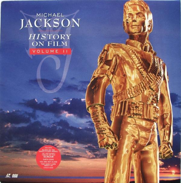 MICHAEL JACKSON - History on film Volume II - Laser Disc