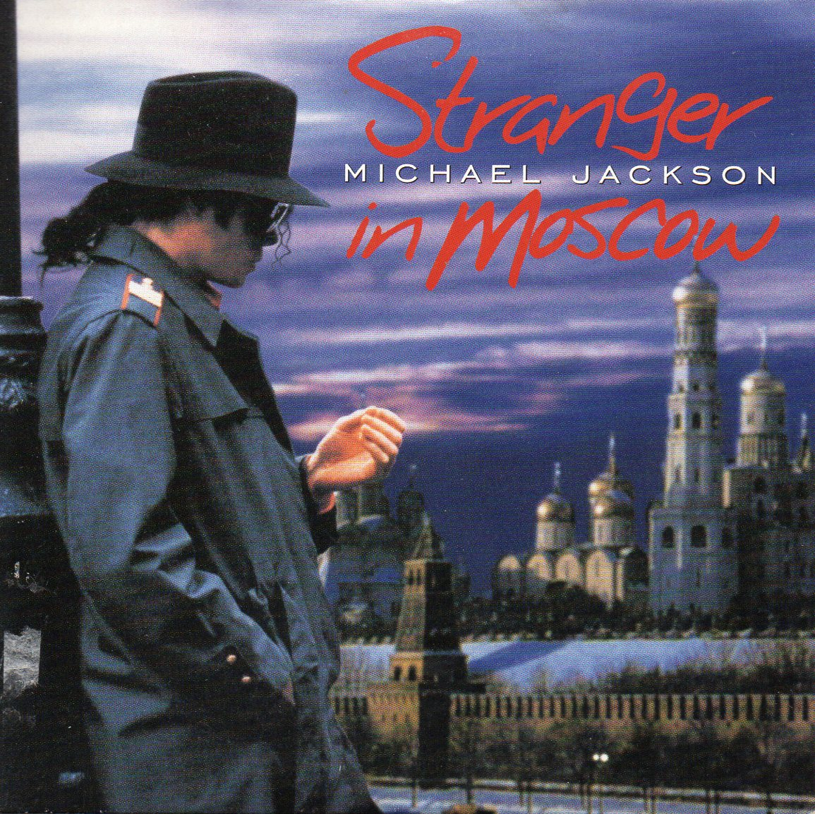 Michael JACKSON - Stranger In Moscow 3-track Card Sleeve