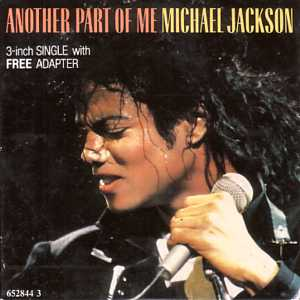 Michael JACKSON - Another Part Of Me 4-track Card Sleeve 3-inch With Adapter