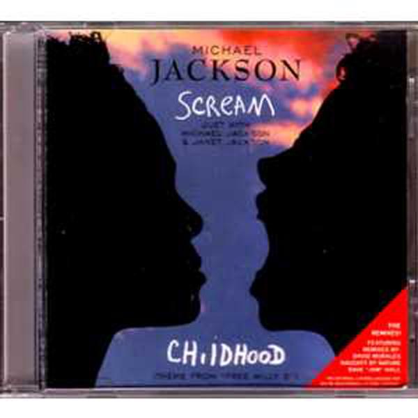 MICHAEL JACKSON & JANET JACKSON - Scream The remixes 6 tracks jewel case - CD Maxi