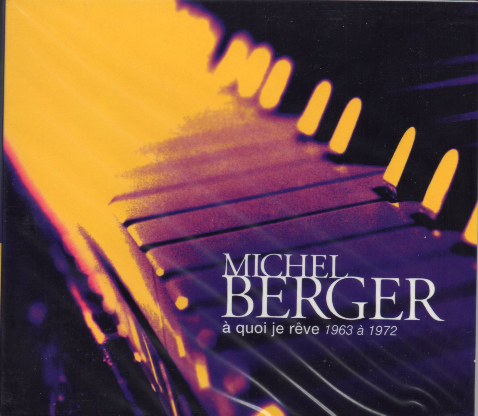 MICHEL BERGER - 1963 - 1972 - Puzzle - Words - Pathé Marconi - CD