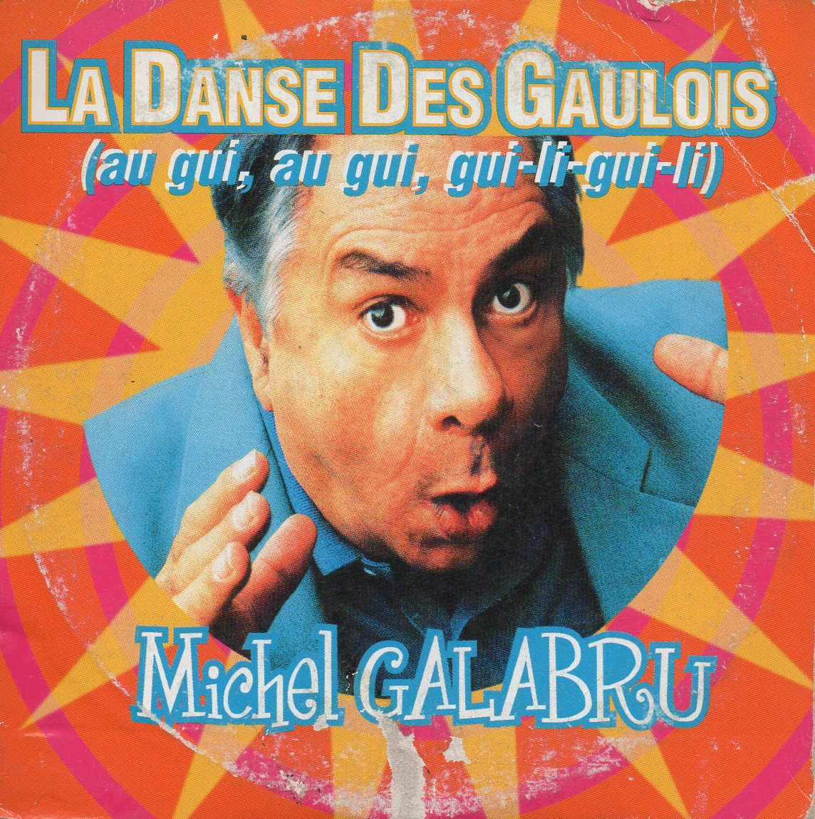 MICHEL GALABRU - La Danse Des Gaulois 2-track CARD SLEEVE - CD single