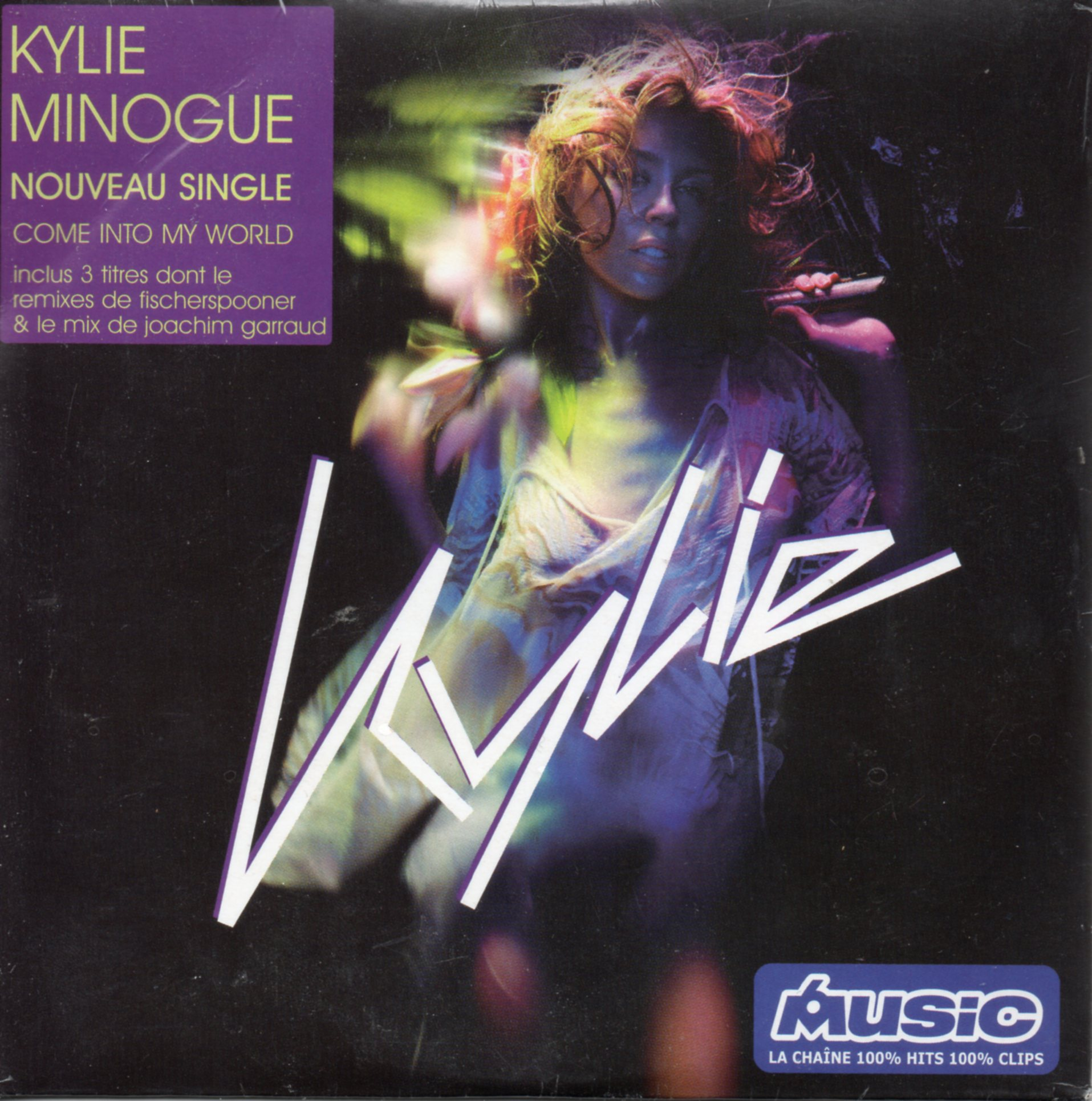 KYLIE MINOGUE - Come into my world 3-Track card sleeve - CD single