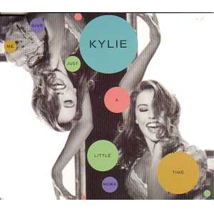 Kylie MINOGUE - Give Me Just A Little More Time 4 Tracks Jewel Case