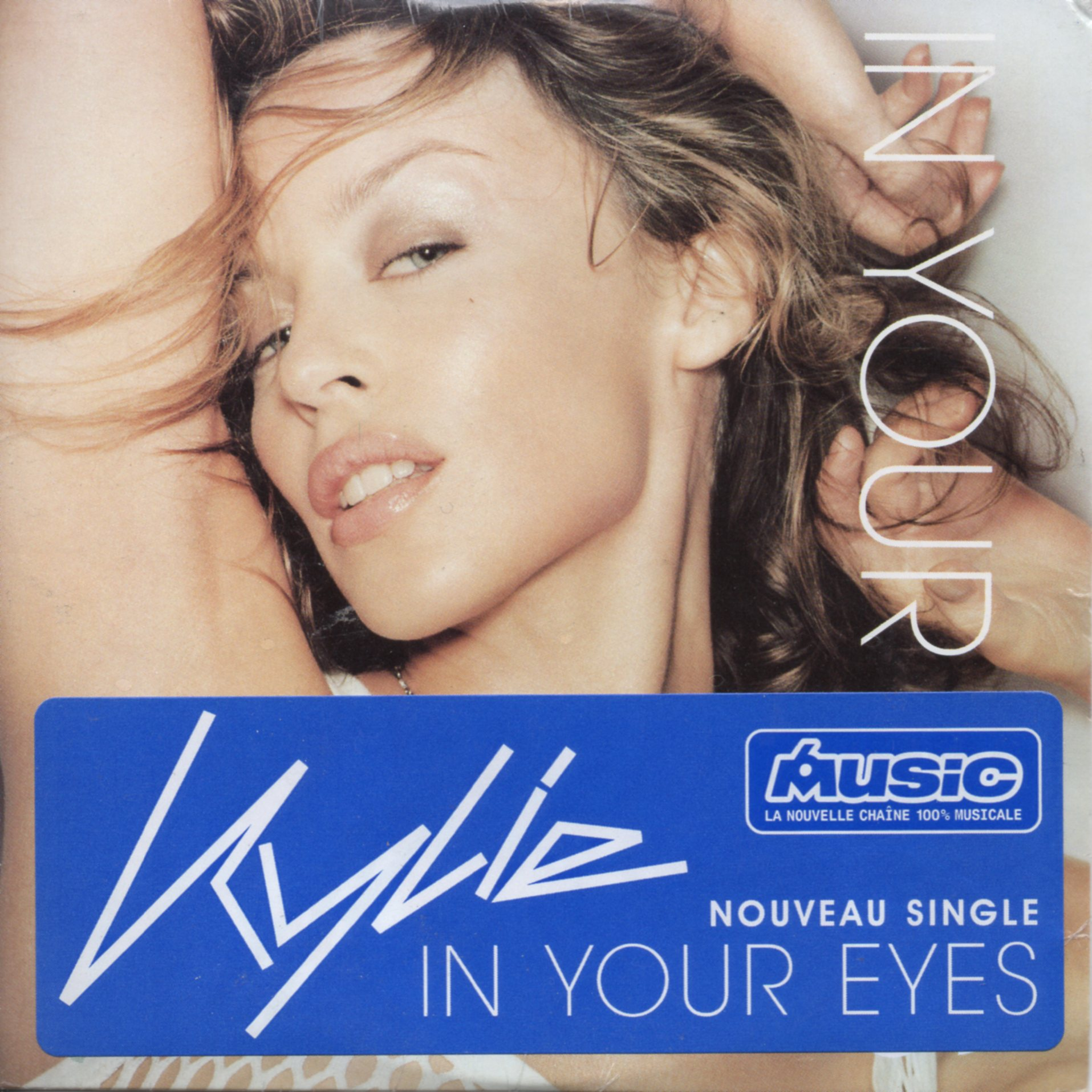 KYLIE MINOGUE - In Your Eyes 2-track CARD SLEEVE - With French Sticker - CD single