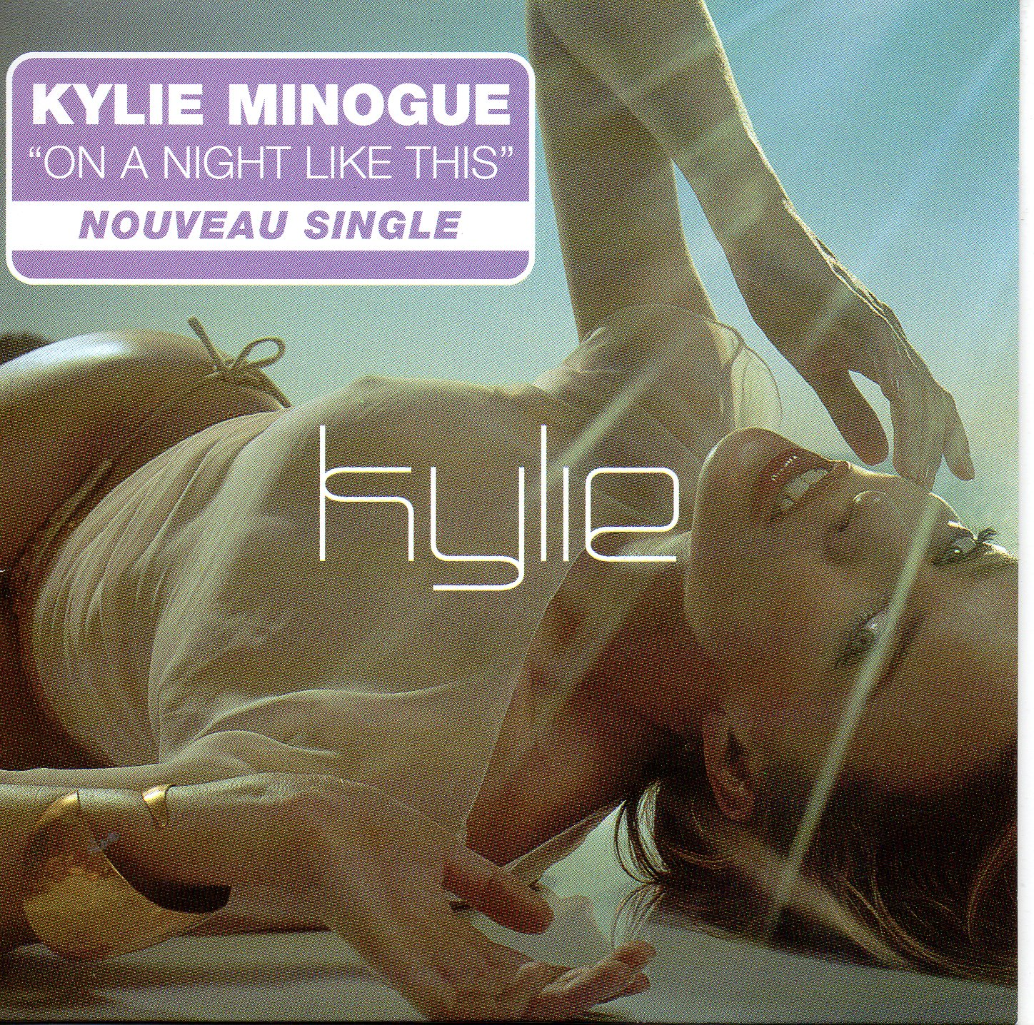 Kylie MINOGUE - On A Night Like This 2-track Card Sleeve