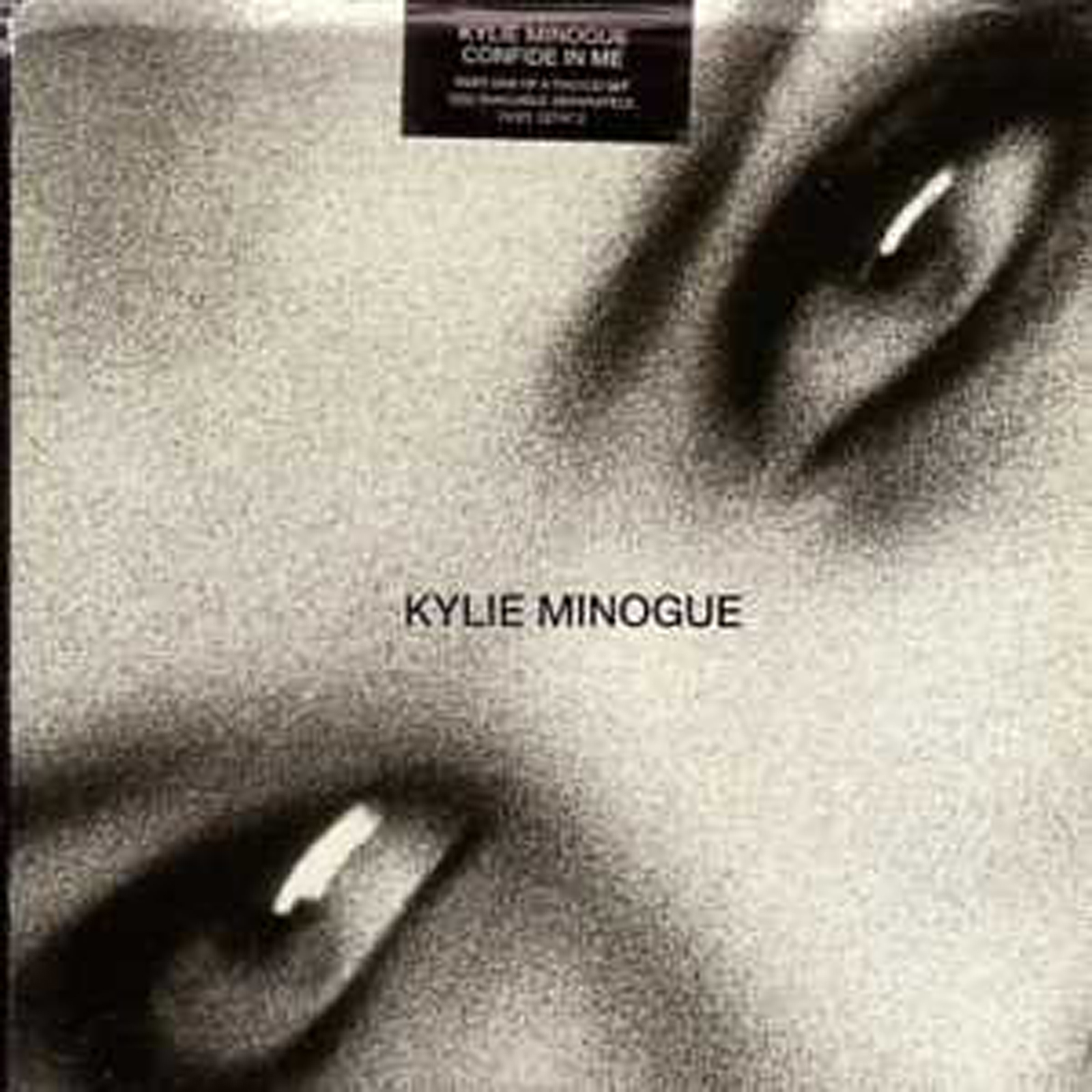 Kylie MINOGUE - Confide In Me Rare 1994 Uk Part 1 3-track