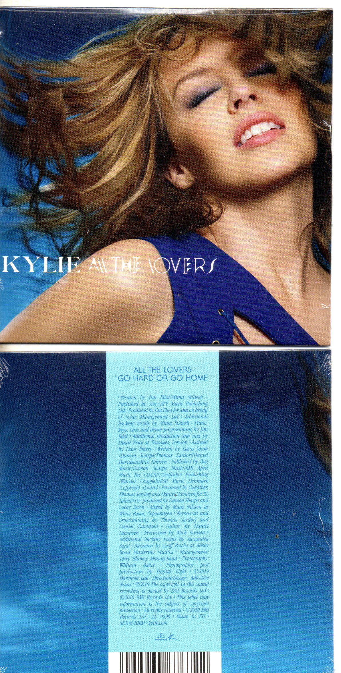 KYLIE MINOGUE - All the lovers 2-track CARD SLEEVE - CD single