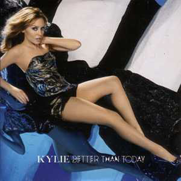 KYLIE MINOGUE - Better than today 2-track CARD SLEEVE - CD single