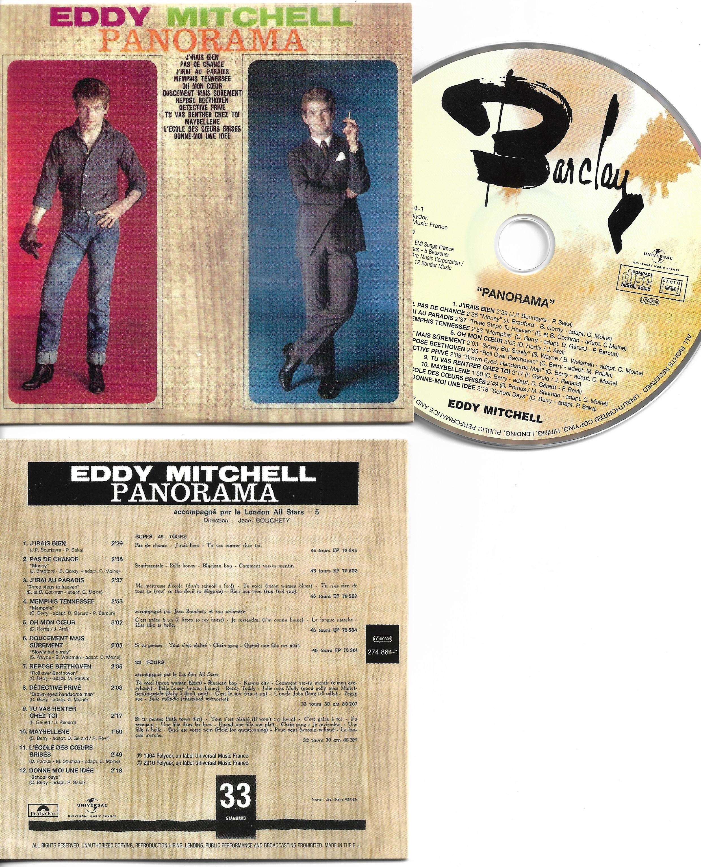 EDDY MITCHELL - Panorama - Mini LP - CARD SLEEVE - CD