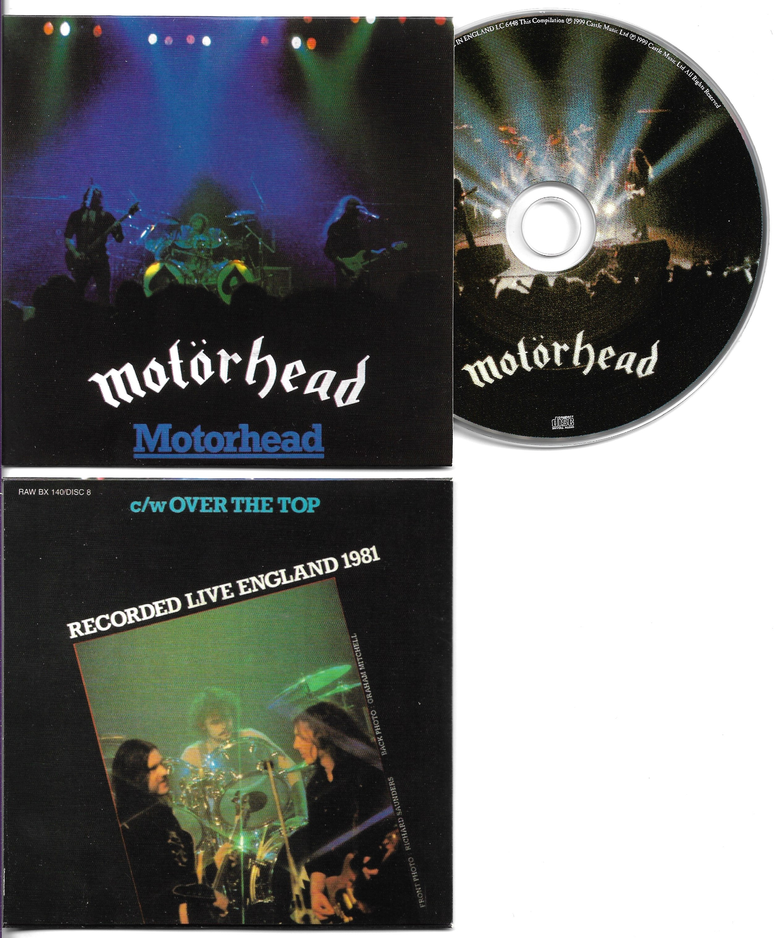 MOTÖRHEAD - Motörhead - 2-Track CARD SLEEVE - CD single