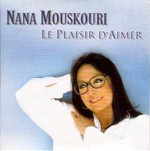 Nana MOUSKOURI - Le Plaisir D'aimer Cd Picture / Promo 1 Track Card Sleeve