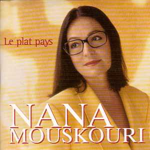 Nana MOUSKOURI / Jacques Brel - Le Plat Pays Cover Version J. Brel Cd Picture / Promo 1 Track Card Sleeve