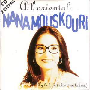 Nana MOUSKOURI - A L'orientale 2 Tracks Card Sleeve
