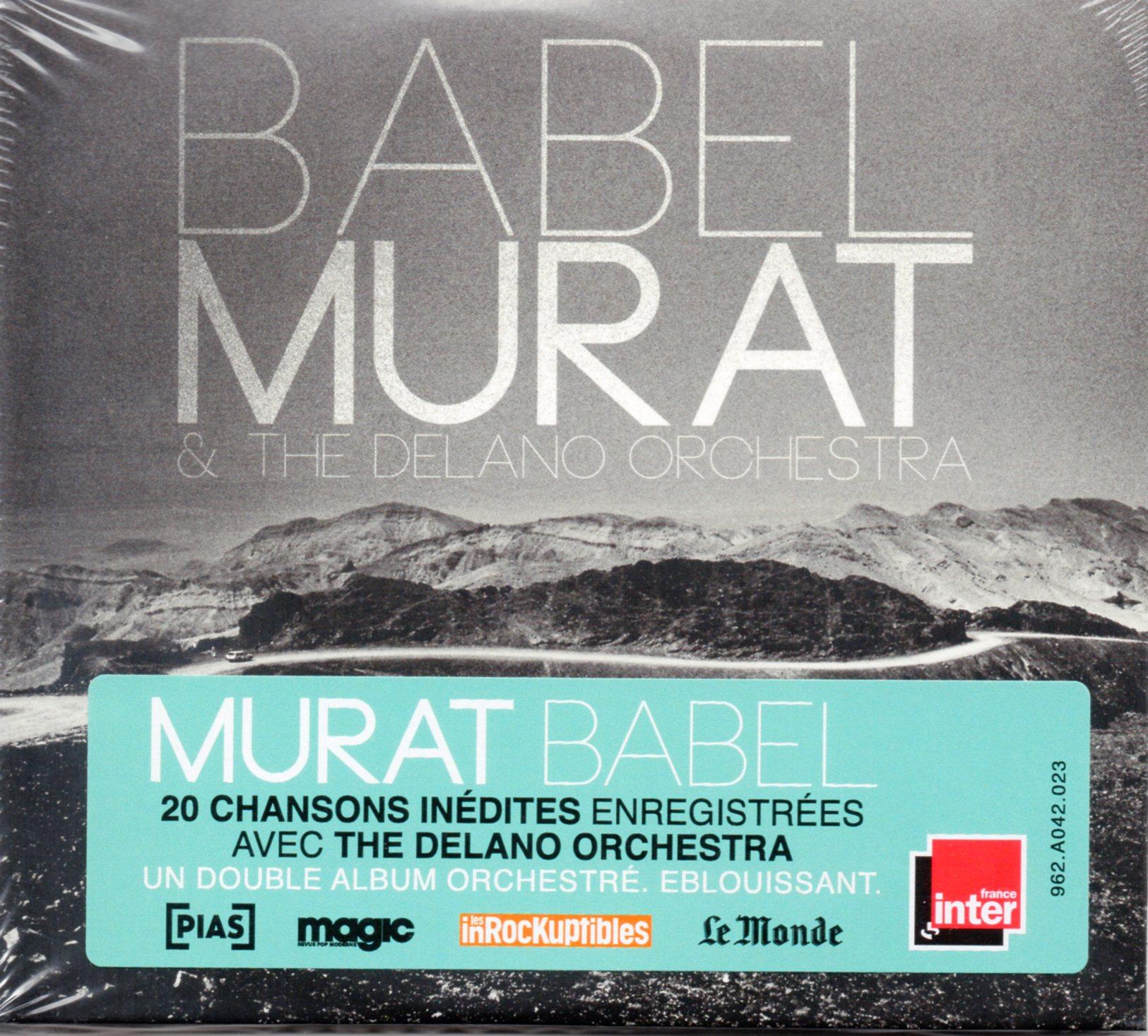 JEAN-LOUIS MURAT - Babel - Double Nouvel Album - - CD x 2