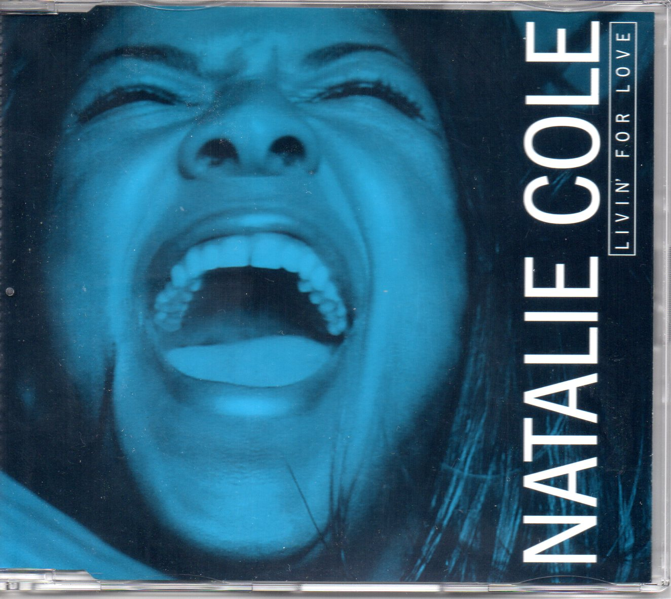 Natalie COLE - Livin' For Love 5-track Remix Promo�jewel Case