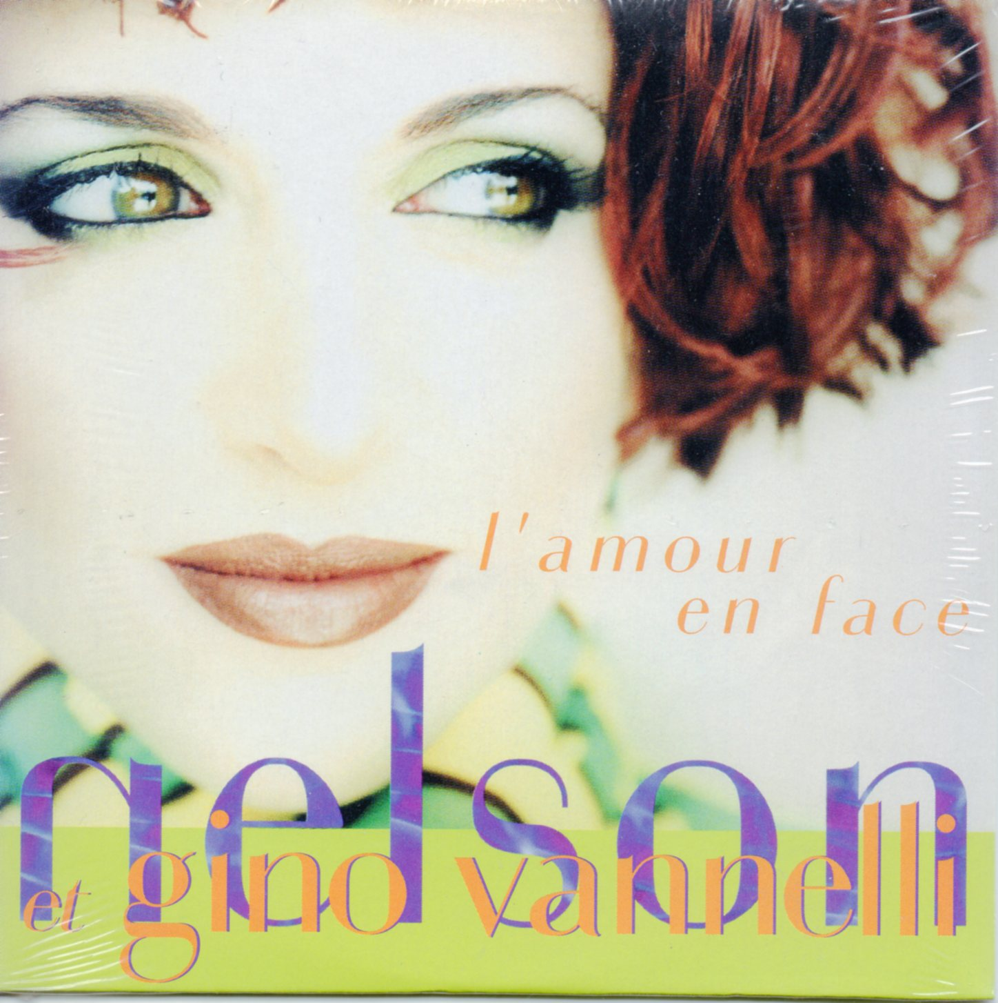 NELSON & GINO VANELLI - L'amour en face 3-track CARD SLEEVE - CD single