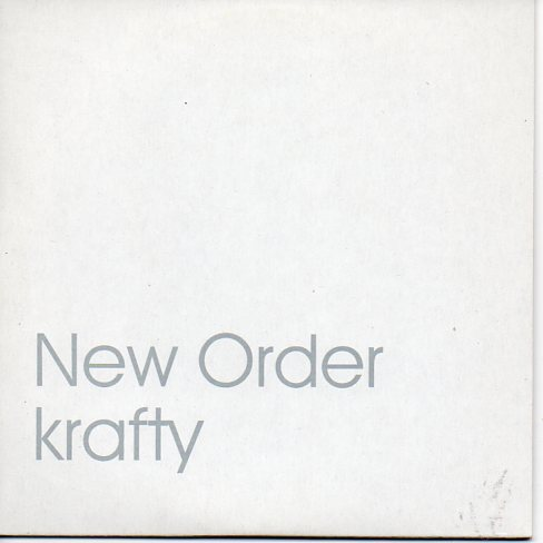 NEW ORDER - Krafty Promo 1-track Card Sleeve