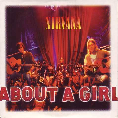 NIRVANA - About A Girl 2-track Card Sleeve