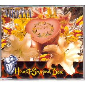 NIRVANA - Heart Shaped Box 3 Tracks Jewel Case
