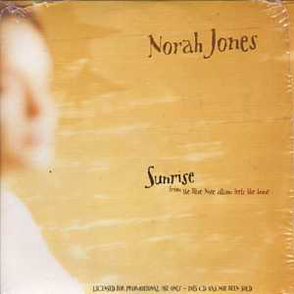 Sunrise Promo 1-track Card Sleeve - Norah JONES