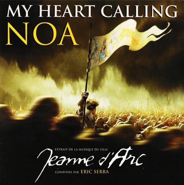 NOA - ERIC SERRA - SOUNDTRACK : JEANNE D'ARC - My heart calling promo 1-track CARD SLEEVE - CD single