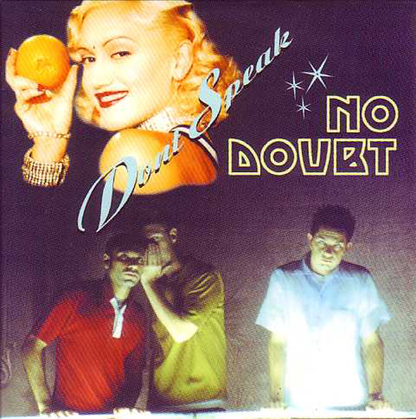 NO DOUBT - Don't Speak 2-track Card Sleeve