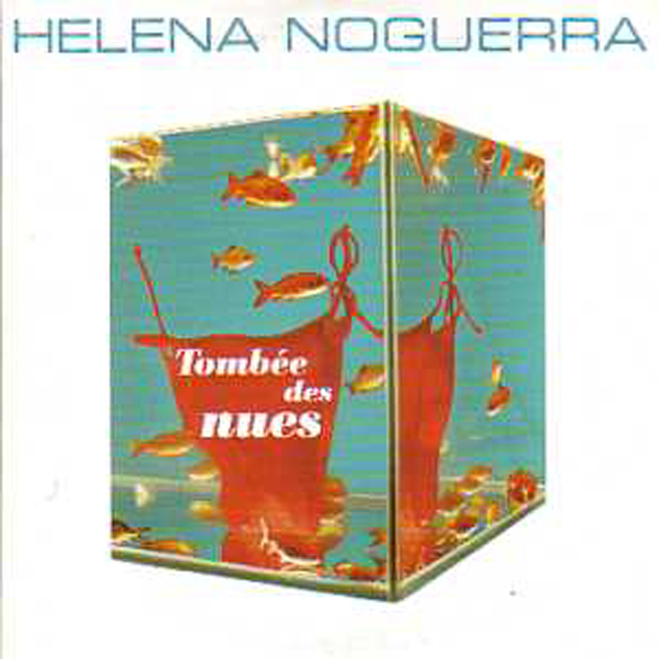 HELENA NOGUERRA - Tombee des nues Promo 1 track CARD SLEEVE - CD single