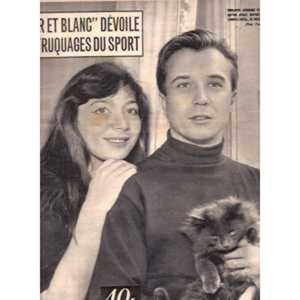 JULIETTE GRÉCO - Noir et Blanc N° 541 - Magazine