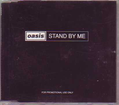 OASIS - Stand By Me Promo 1-track Jewel Case