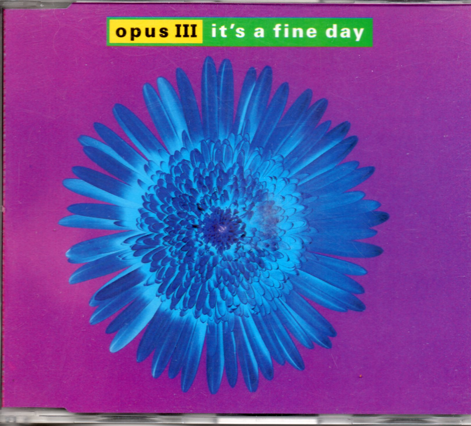 OPUS III - PWL - It's a fine day 4-track Jewel Case - CD Maxi