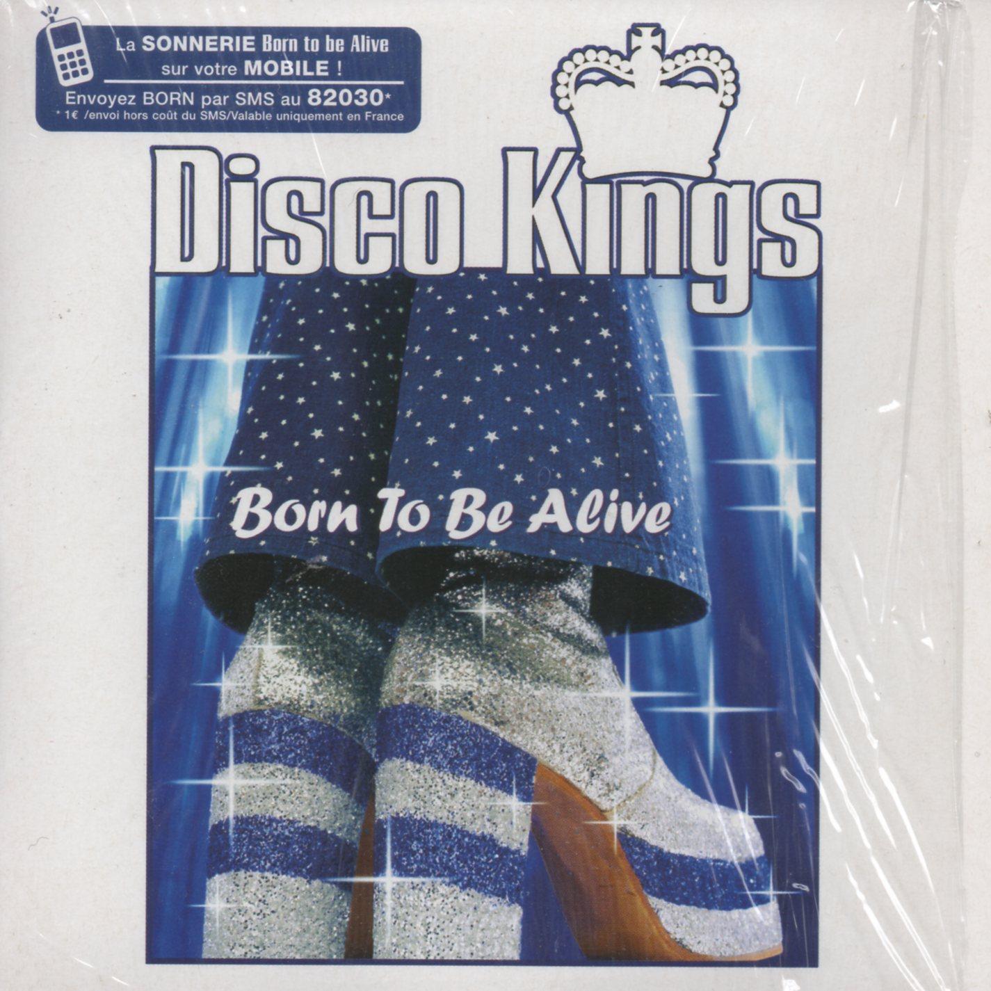 DISCO KINGS - PATRICK HERNANDEZ - Born to be alive 4-track CARD SLEEVE - CD single