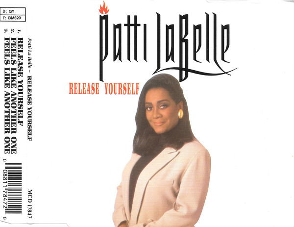 LABELLE PATTI - Release yourself 3 tracks jewel case - CD Maxi