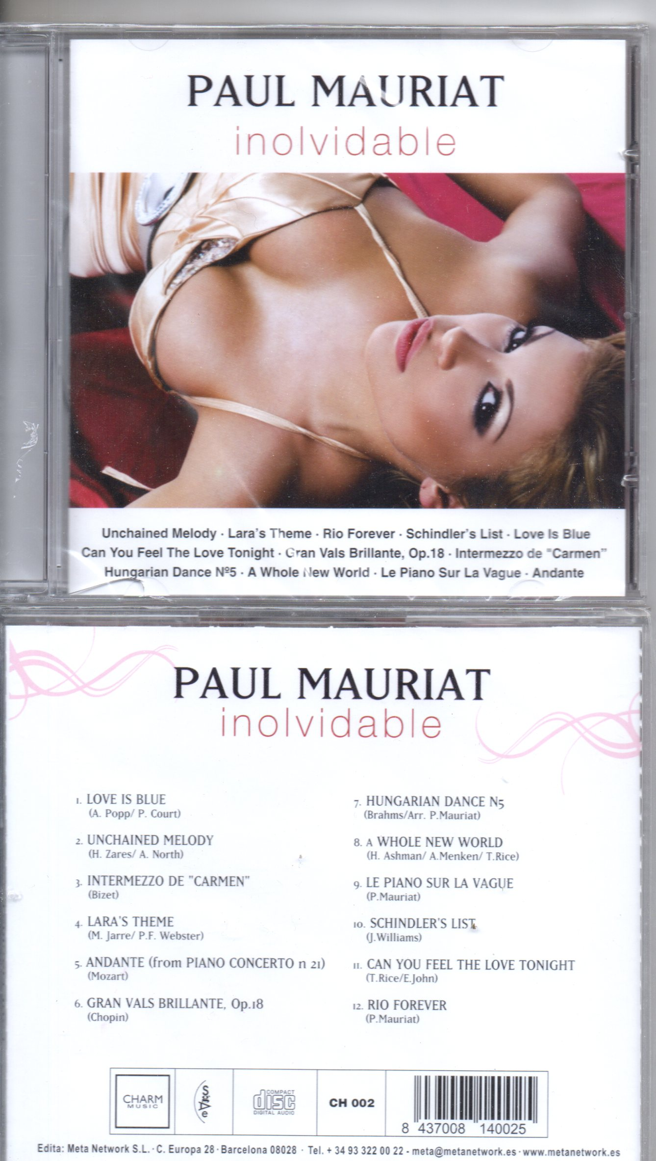 Paul MAURIAT - Inolvidable - Spain -