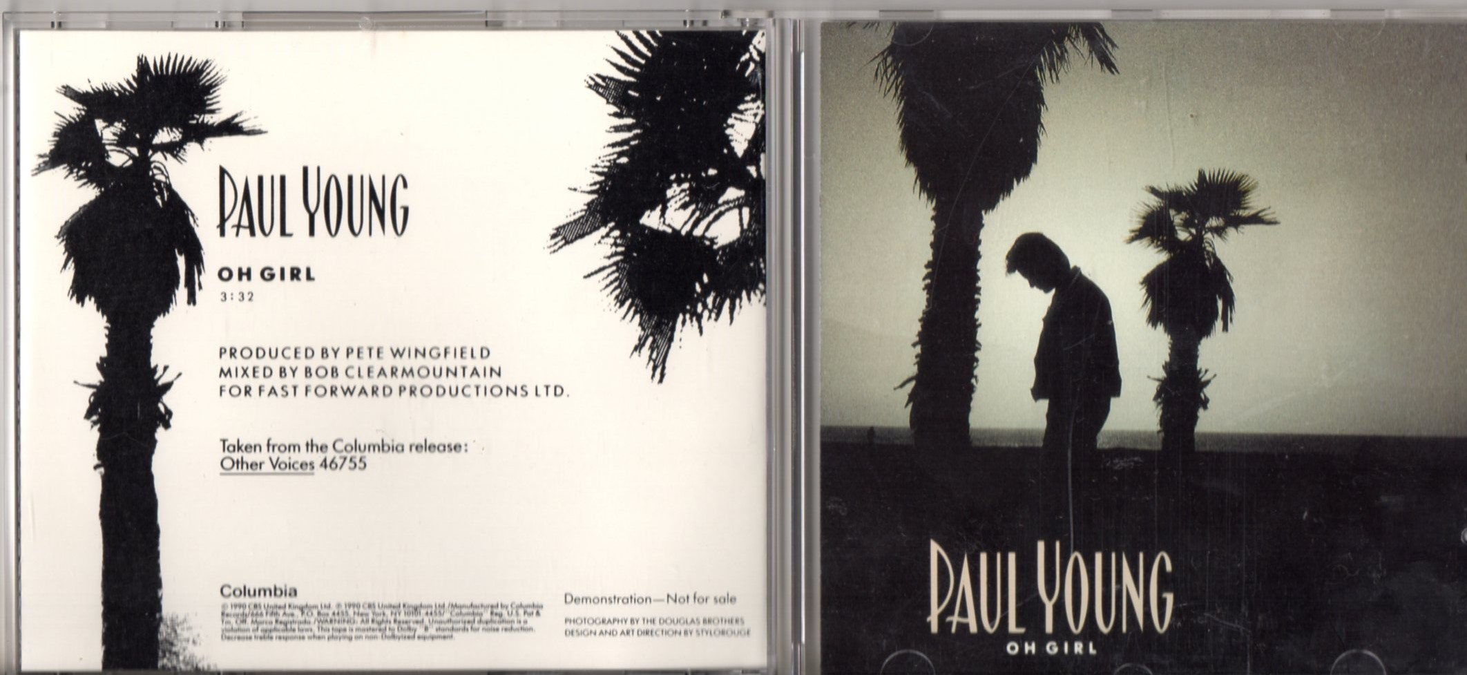 PAUL YOUNG - Grazing in the grass - Promo 1-track jewel case - CD Maxi