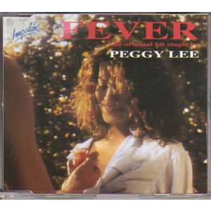 PEGGY LEE - Fever 4 tracks jewel case - CD Maxi