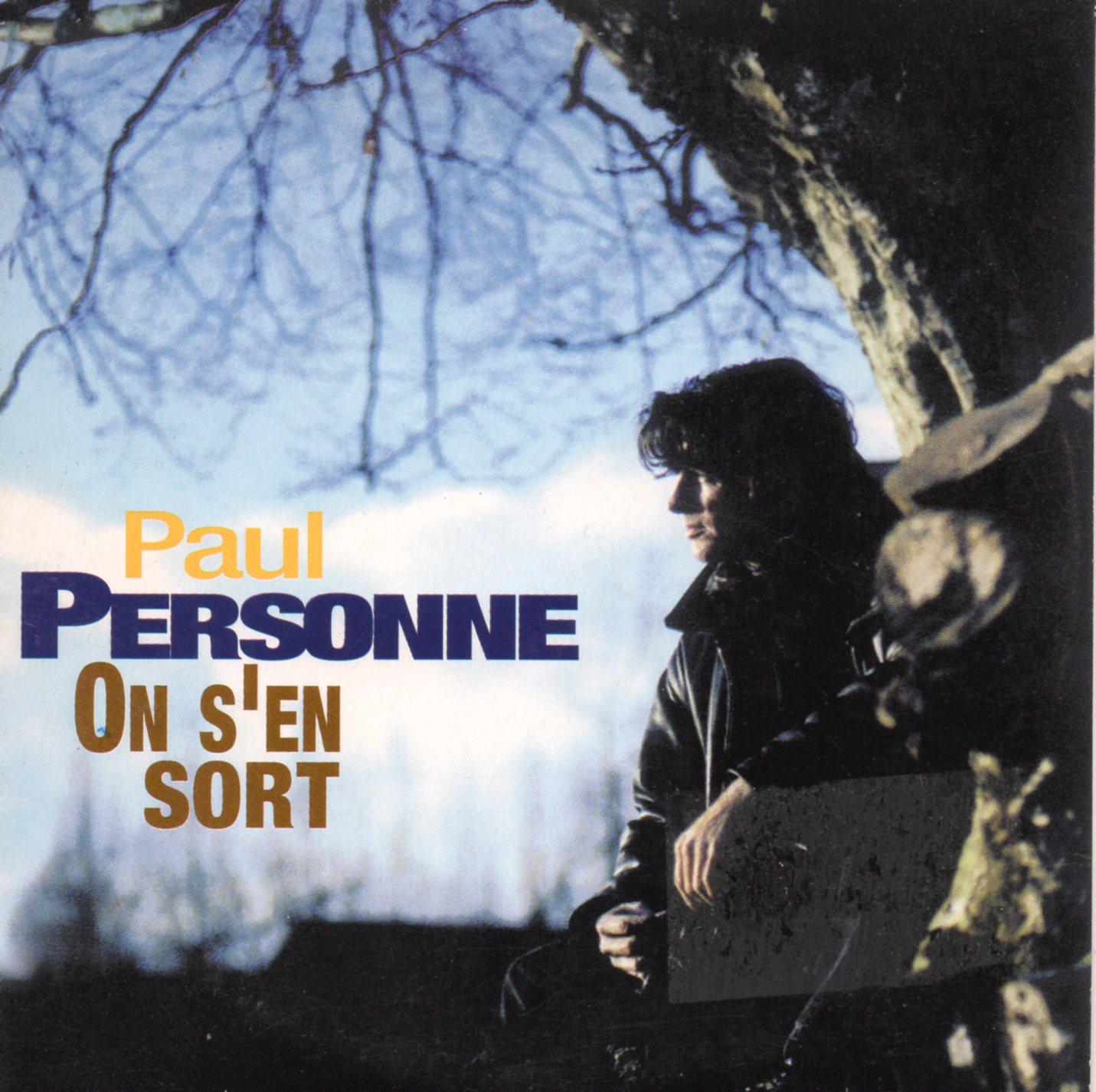 PAUL PERSONNE - On s'en dort Promo 3-Track CARD SLEEVE - CD single