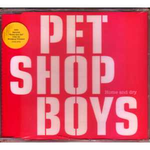 PET SHOP BOYS - Home And Dry 3-track Dvd Single
