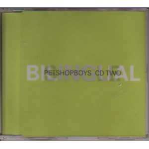 PET SHOP BOYS - Bilingual Cd2 4 Tracks Jewel Case Cd2