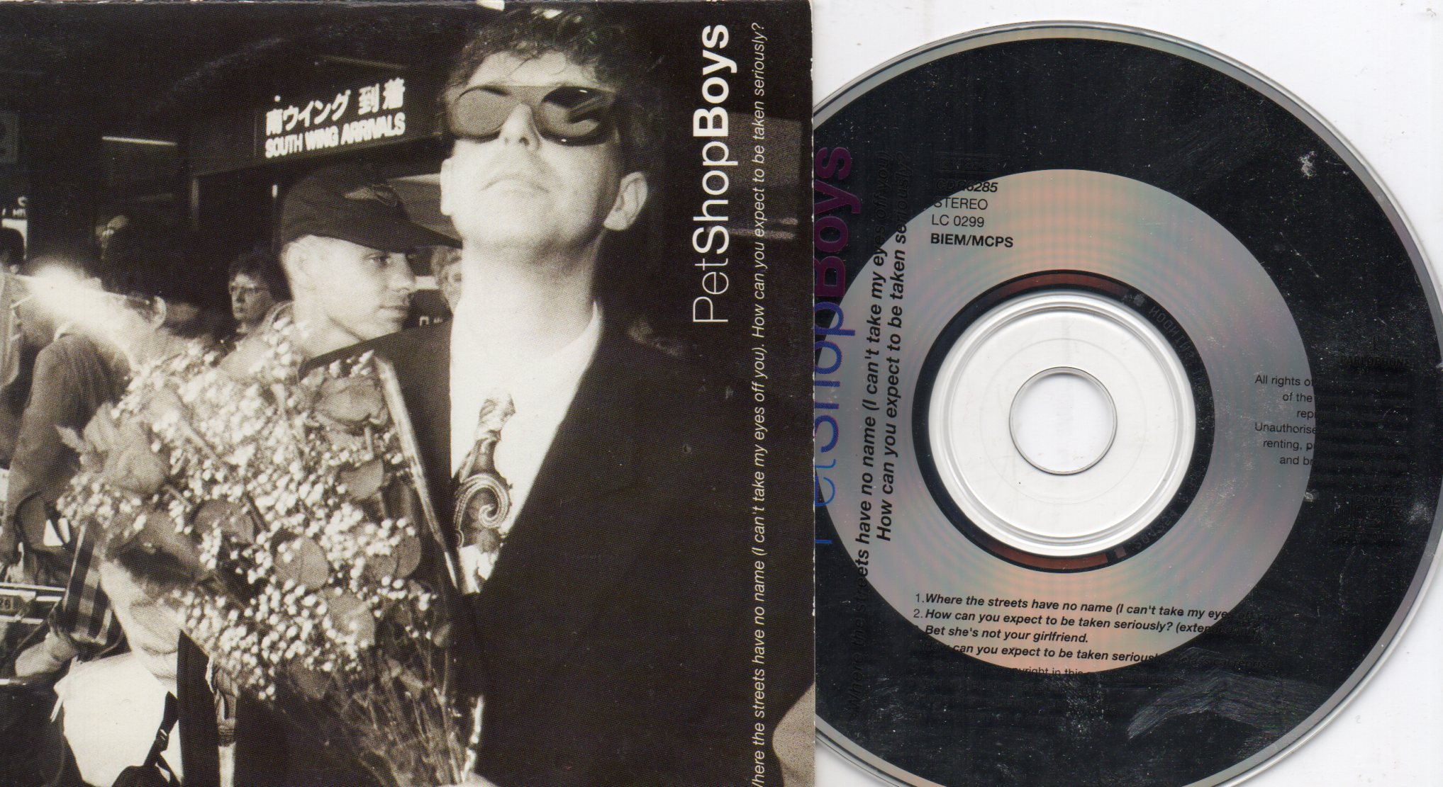 PET SHOP BOYS - Where The Streets Card Sleeve 4 Tracks