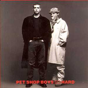 So Hard Card Sleeve 3 Tracks - PET SHOP BOYS