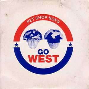 Go West Card Sleeve 2-track - PET SHOP BOYS