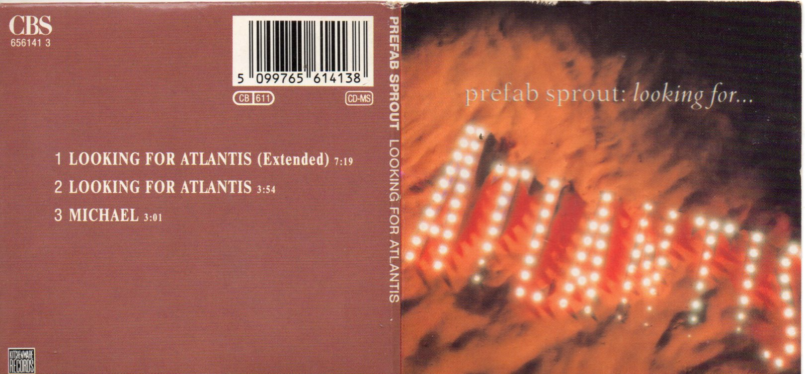 PREFAB SPROUT - Andromeda Heights 4-track promo sampler CD, double card wallet picture sleeve - CD single