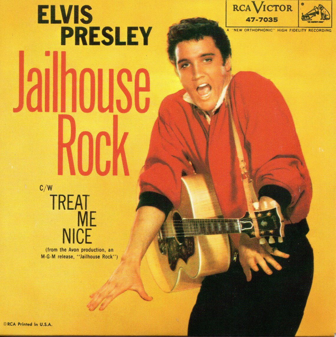 Elvis PRESLEY - Soundtrack : Jailhouse Rock - Jailhouse Rock 2-track Card Sleeve