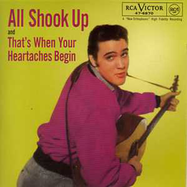 ELVIS PRESLEY - All shook up 3-track CARD SLEEVE - CD single