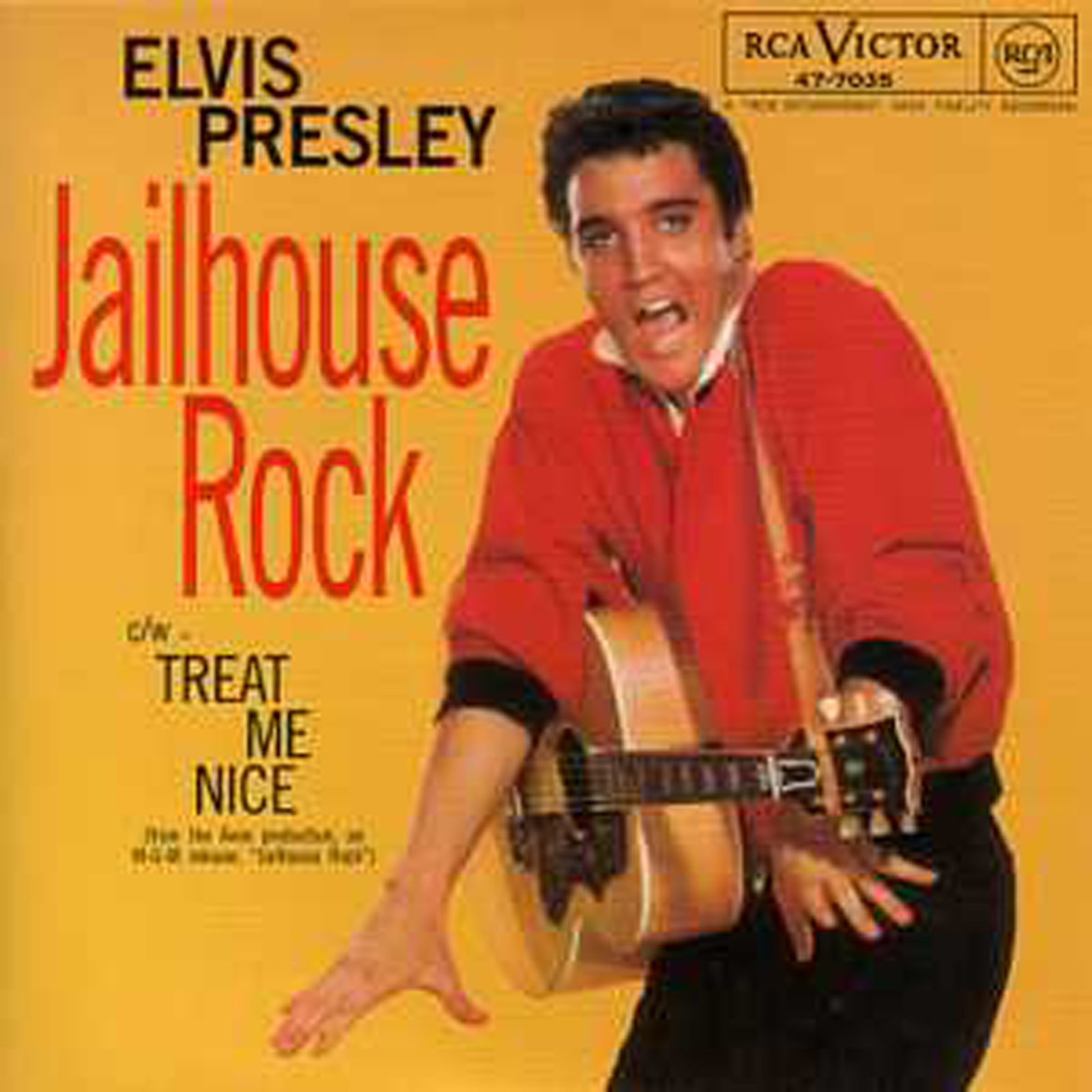 Elvis PRESLEY - Jailhouse Rock 3-track Card Sleeve
