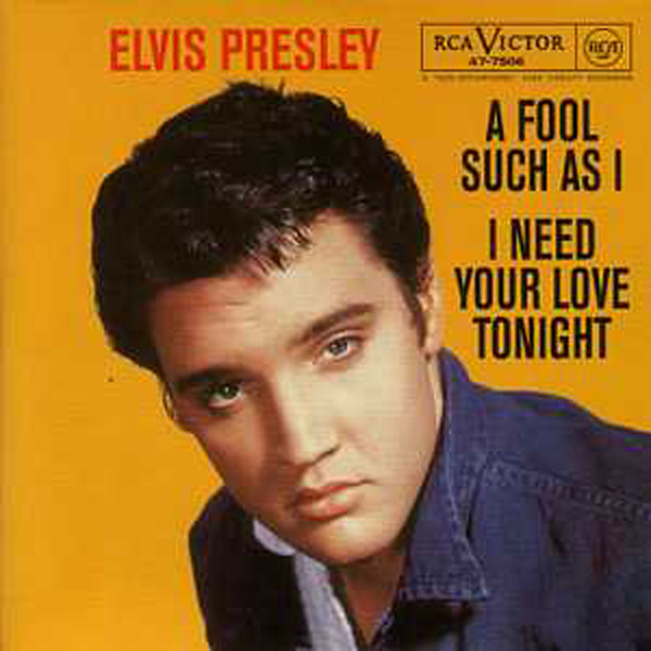 Elvis PRESLEY - A Fool Such As I 3-track Card Sleeve